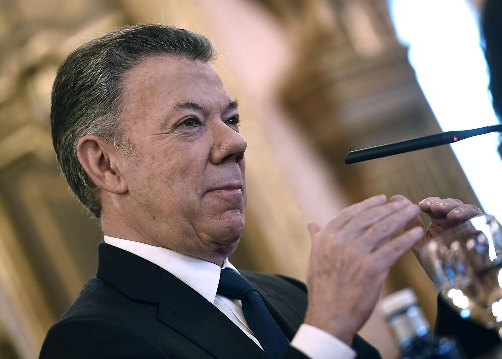 344173_BLU Radio // Juan Manuel Santos // Foto: AFP