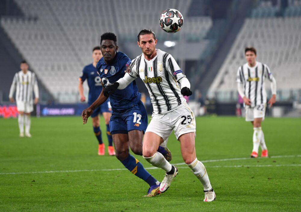 Adrien Rabiot, Juventus vs. Porto