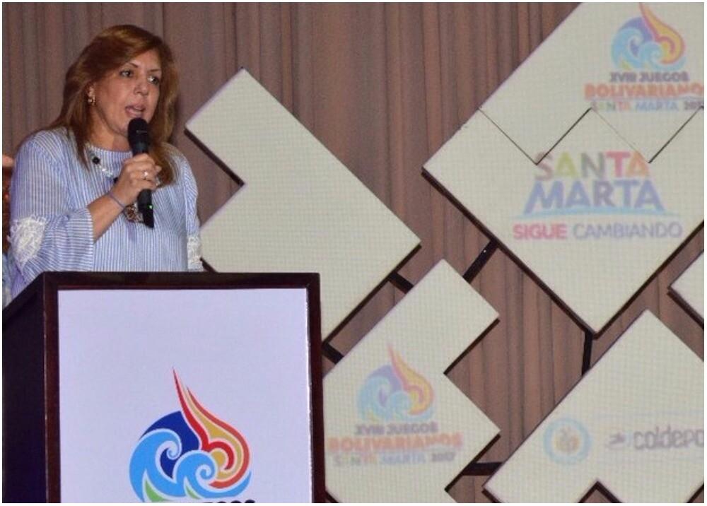 289244_La directora de Coldeportes, Clara Luz Roldán - Foto: @ClaraLuzRoldan