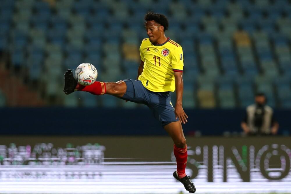 Juan Guillermo Cuadrado, en Selección Colombia