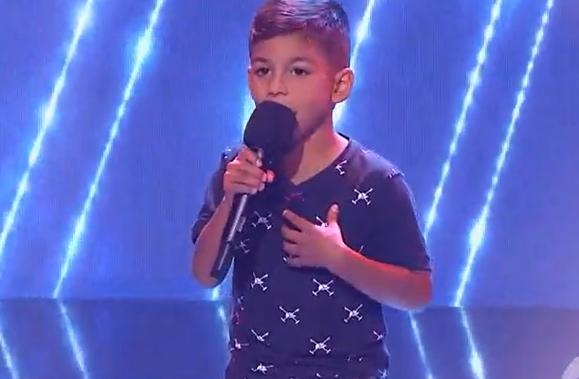 Jesús, participante de La Voz Kids