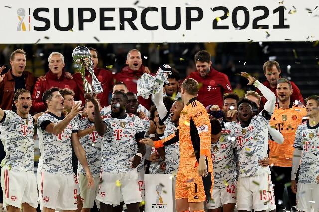 Bayern Múnich, campeón de la Supercopa de Alemania