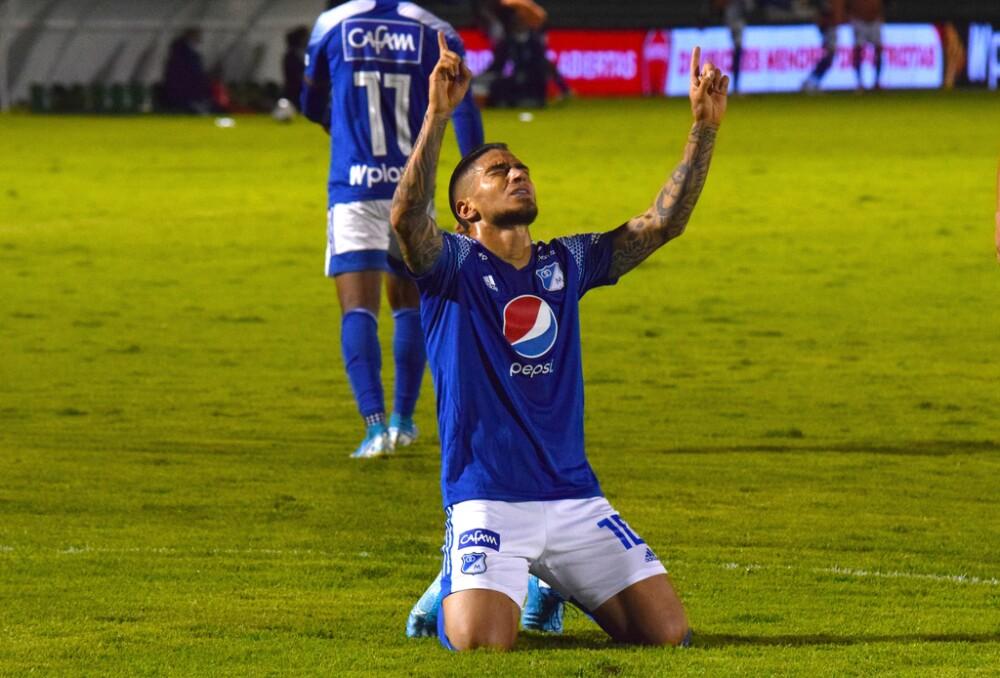 Cristian Arango Millonarios vs Patriotas