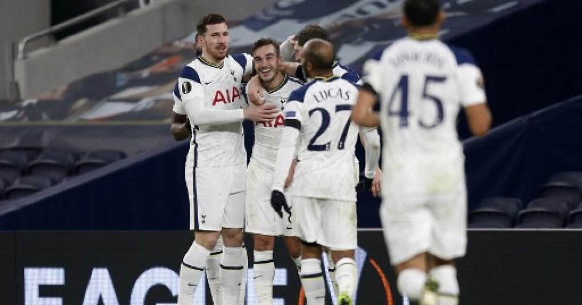 Europa League: Tottenham, con Dávinson Sánchez, no tuvo piedad y goleó 4-0 a Ludogorets