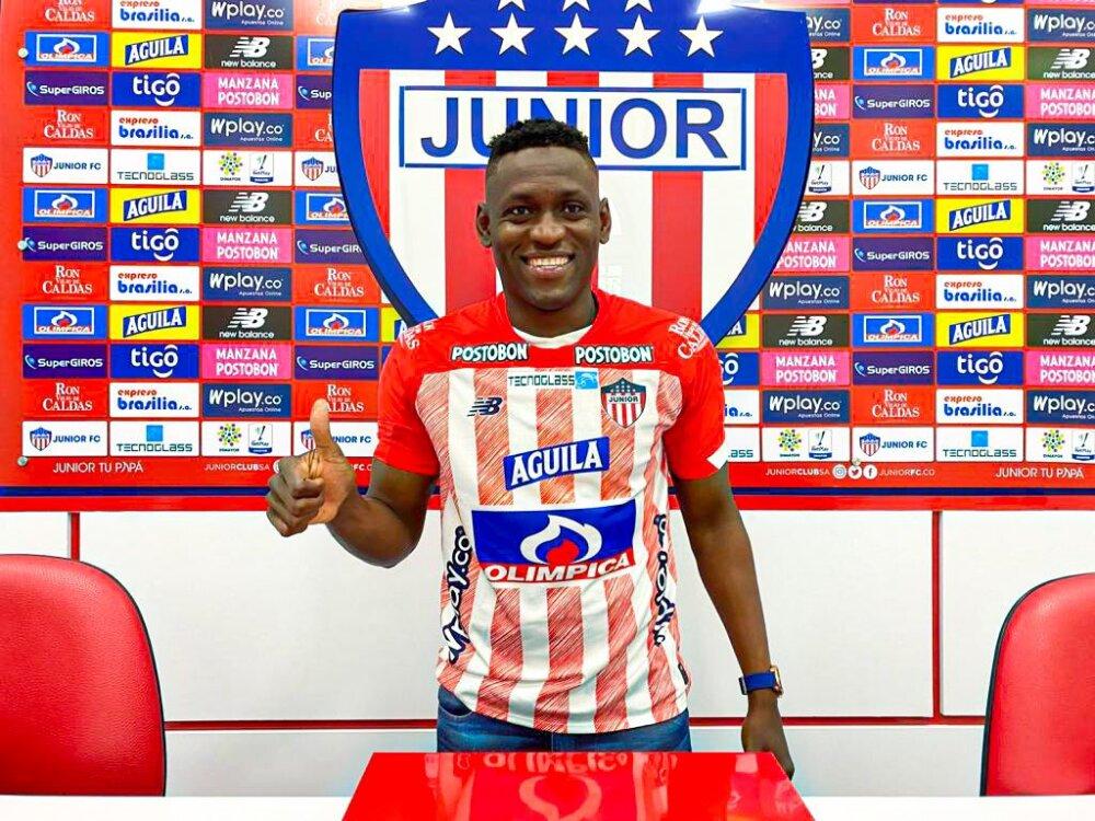 Cristian Martínez Borja, jugador del Junior. Junior Oficial.jpg