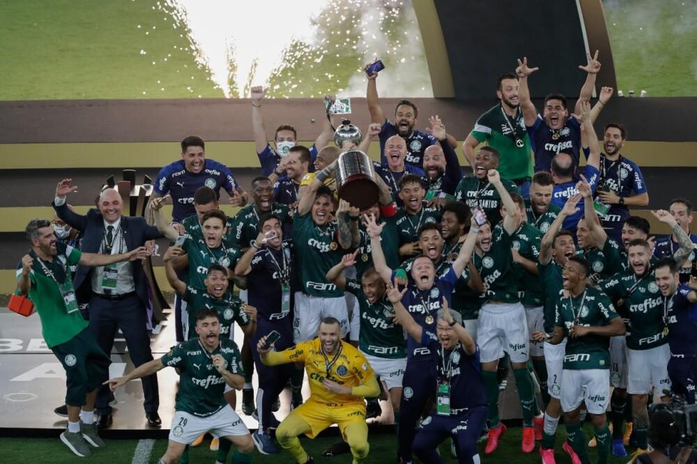 Palmeiras campeón de la Copa Libertadores AFP