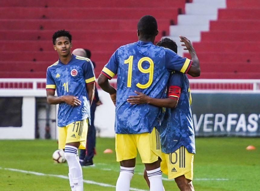 Selección Colombia Sub-20 Festeja 161220 FCF E.JPG