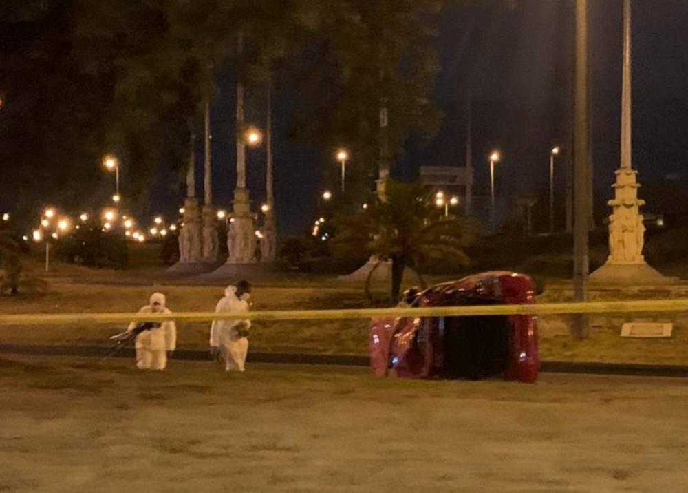 Accidente en Banderas, suroccidente de Bogotá
