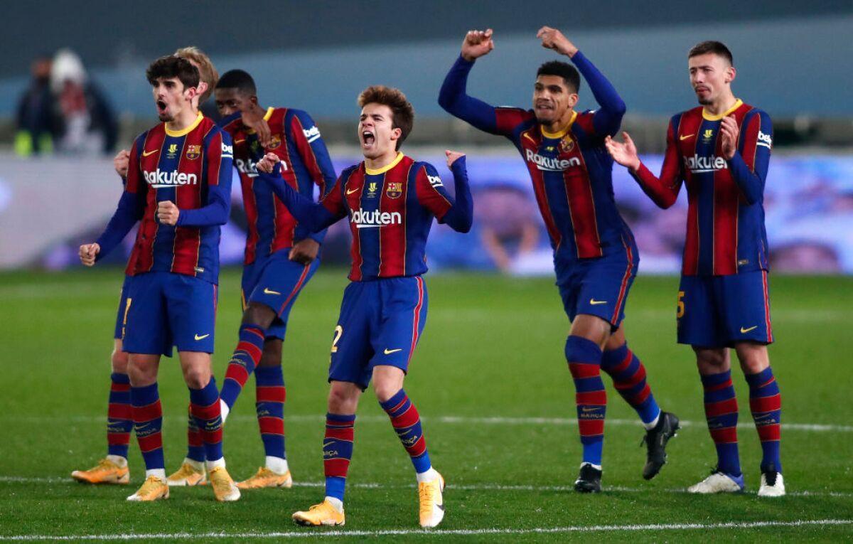 Barcelona vs Athletic Bilbao EN VIVO: alineaciones ...