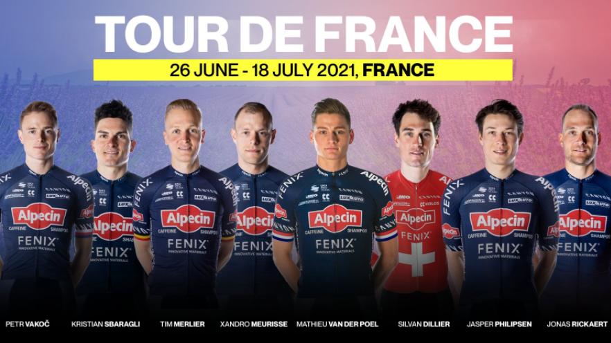 Mathieu Van der Poel será el líder del Alpecin-Fenix en el Tour de Francia.