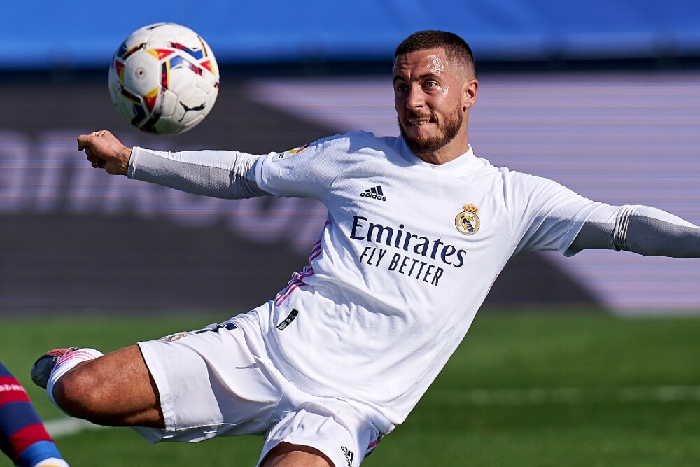 Eden Hazard Real Madrid 311020 Getty Images E.jpg