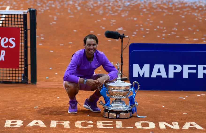Rafael Nadal se coronó campeón del ATP 500 de Barcelona.