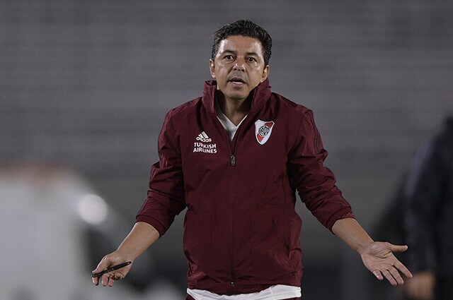 332868_Marcelo Gallardo, técnico de River Plate