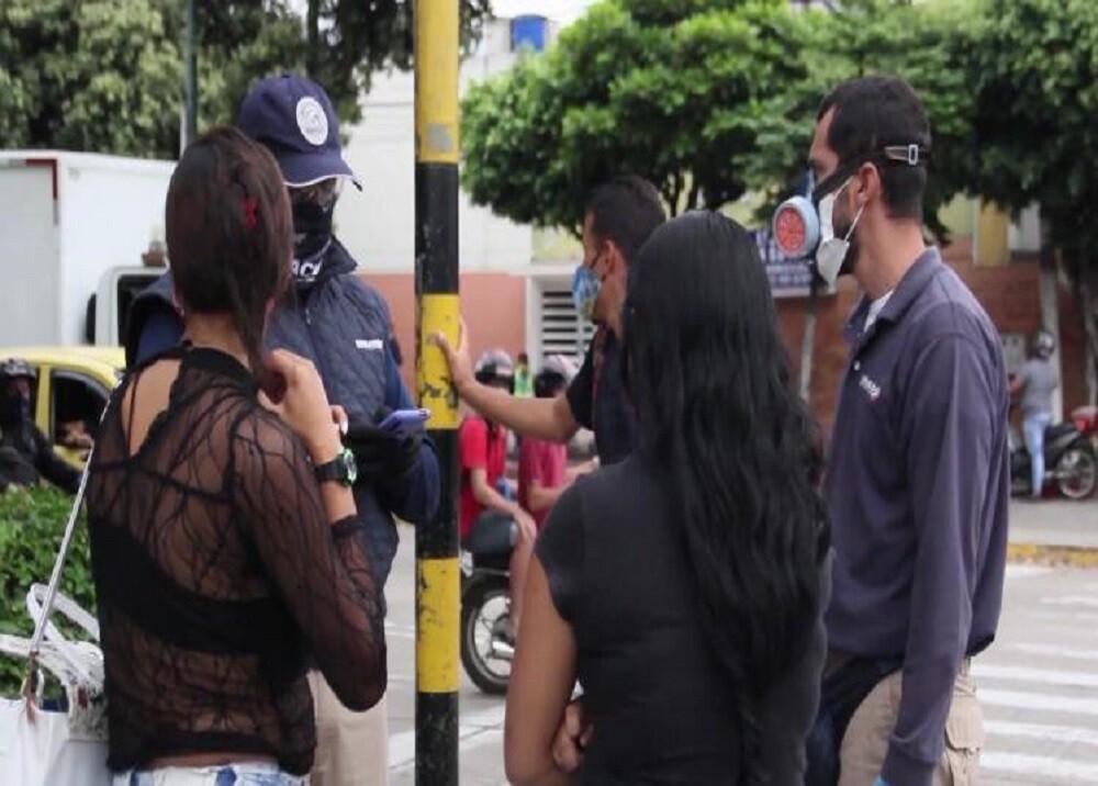 372357_BLU Radio. Control limpiavidrios Bucaramanga / Foto: Policía de Bucaramanga