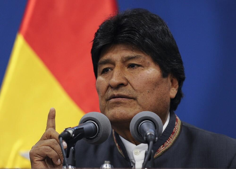 347996_BLU Radio. Evo Morales // Foto: AFP