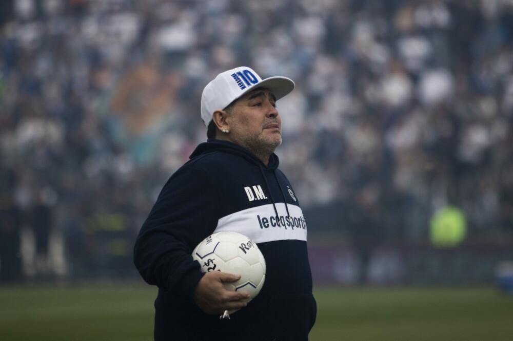 Diego Maradona Gimnasia Y Esgrima