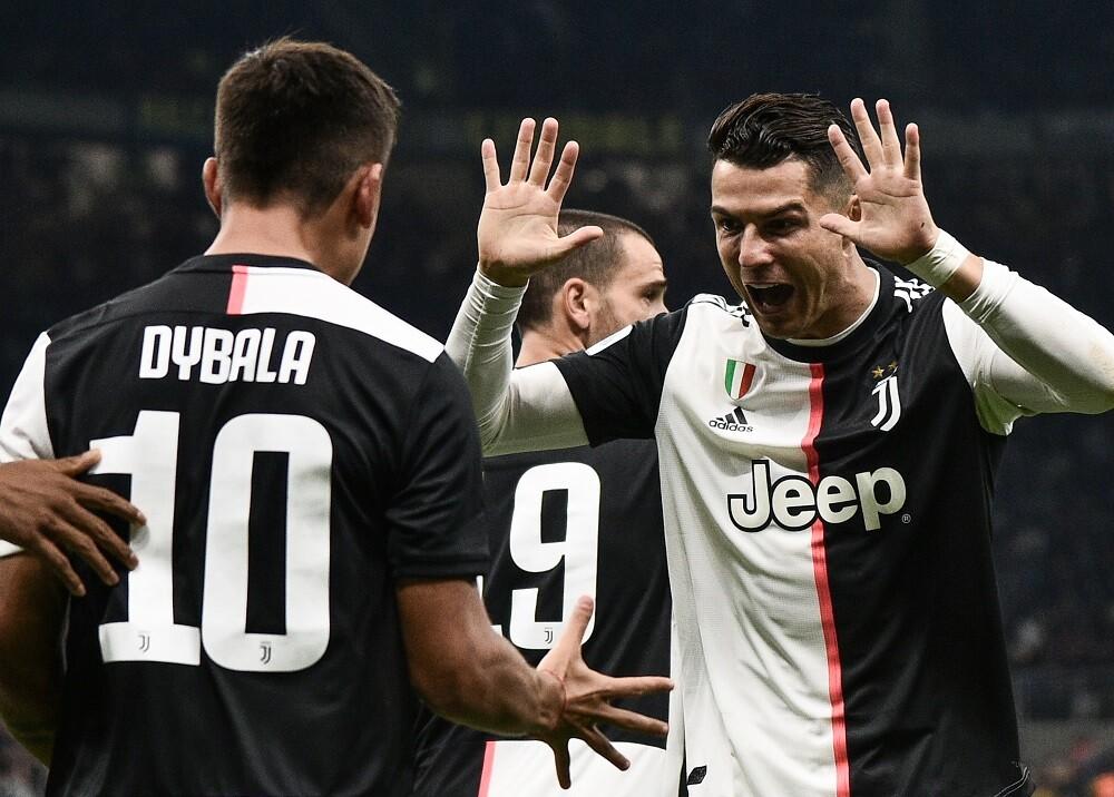 345239_BLU Radio. Cristiano Ronaldo y Paulo Dybala / Foto: AFP