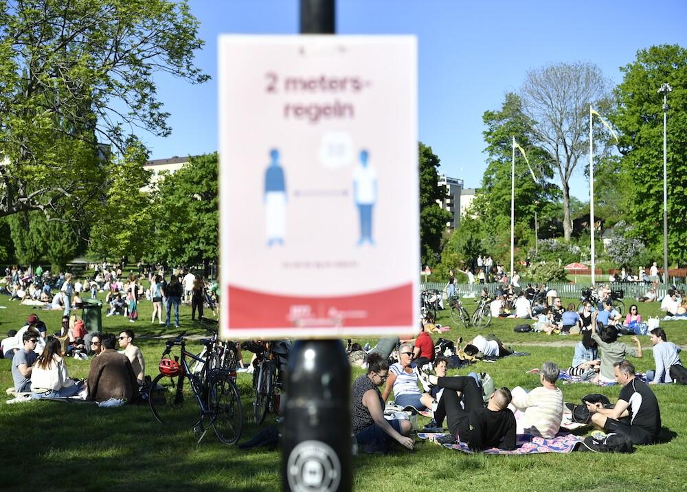 366137_Coronavirus en Suecia / Foto: AFP