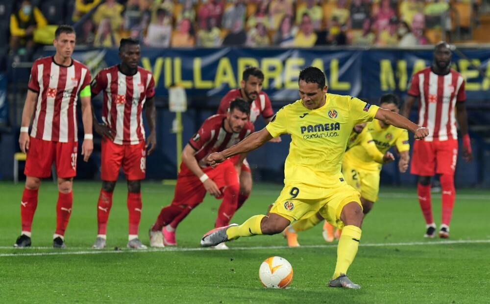 Carlos Bacca, jugador de Villarreal
