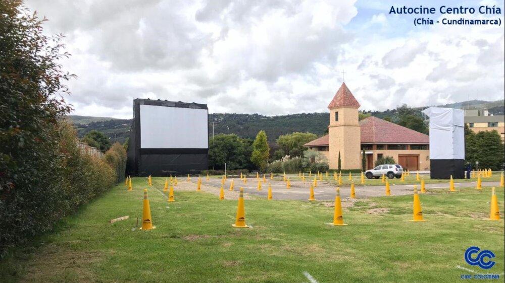 375074_Autocines. Foto: Cine Colombia