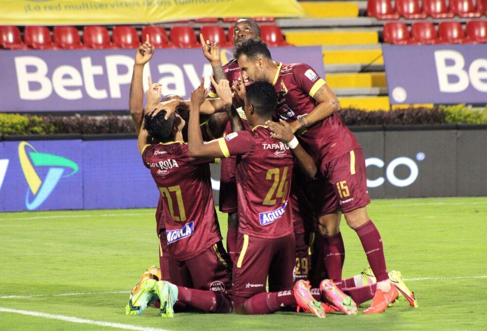 Jugadores del Deportes Tolima. Dimayor.jpeg