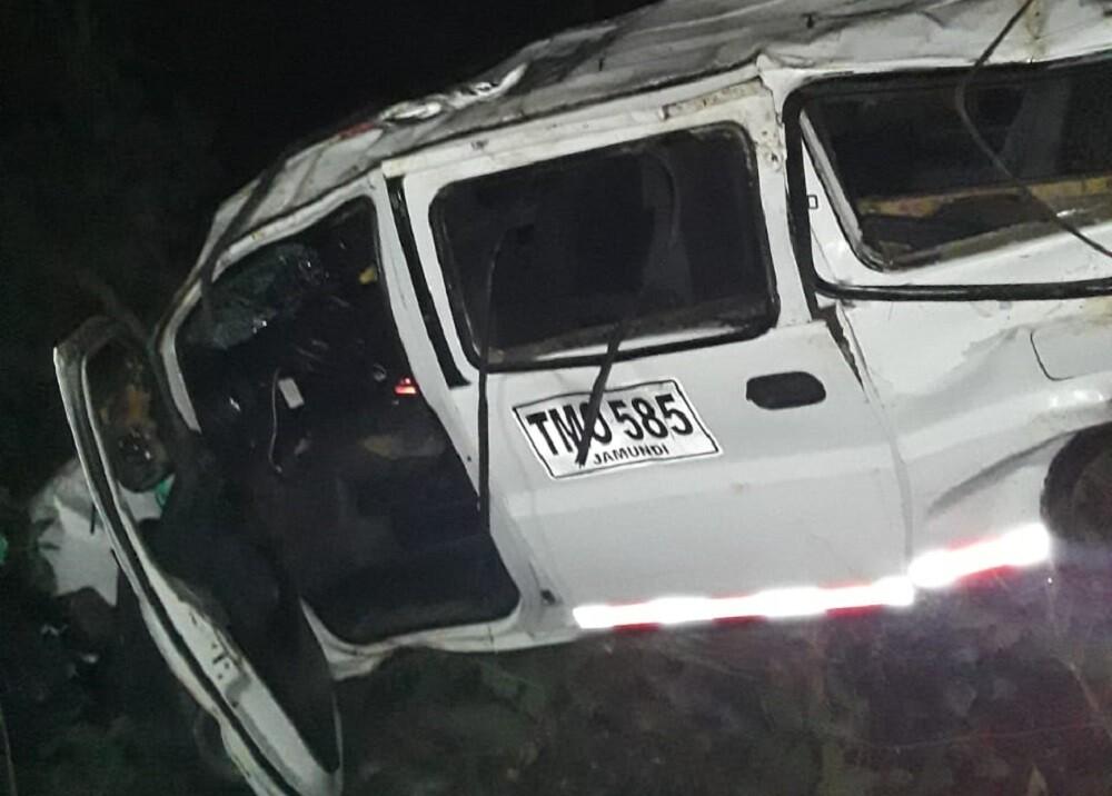 335870_BLU Radio // Accidente // Foto: Bomberos Toribio