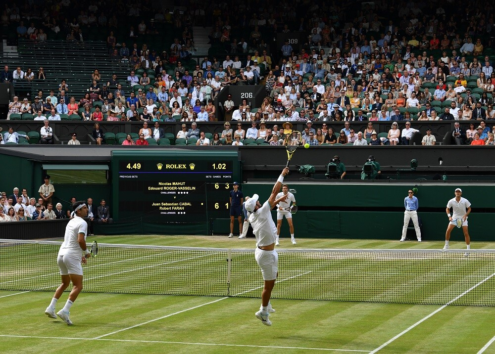 341382_BLU Radio // Wimbledon // Foto: AFP