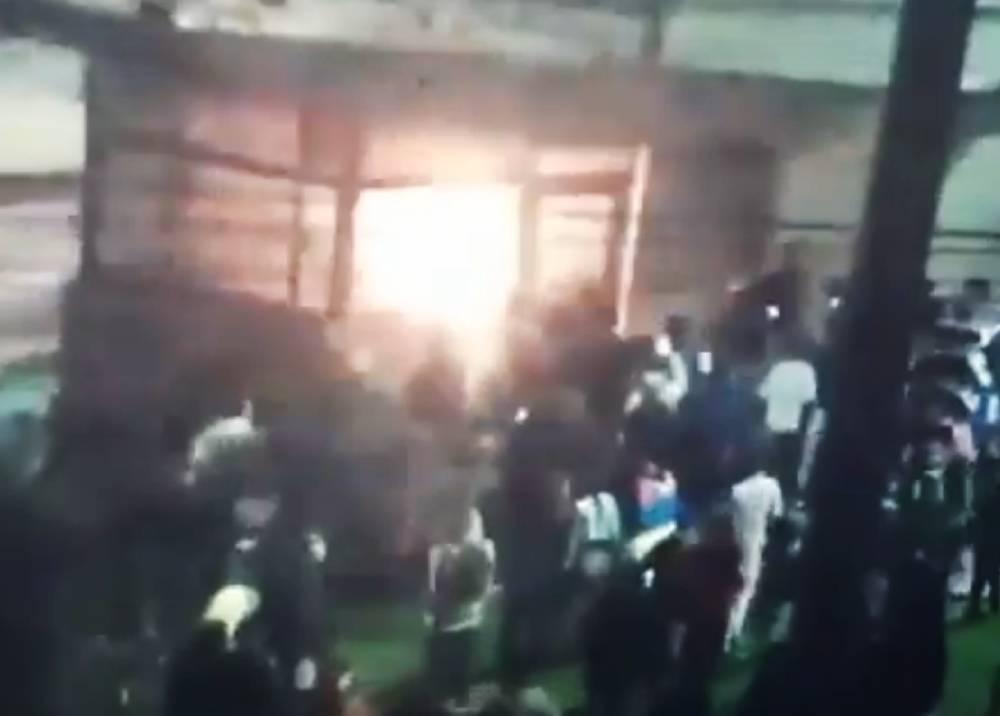 Ataque a policías en CAI La Aurora de Bogotá.jpg