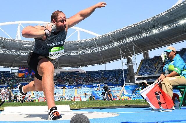 Benik Abramyan, en los Juegos Olímpicos de Tokio