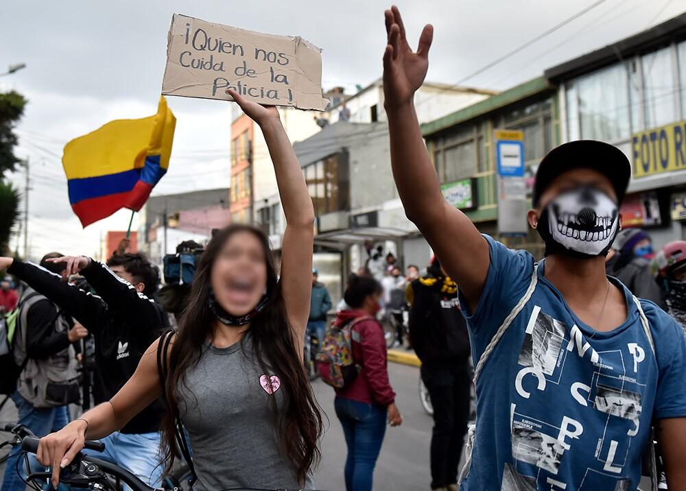 Protestas por el asesinato de Javier Ordóñez en Bogotá