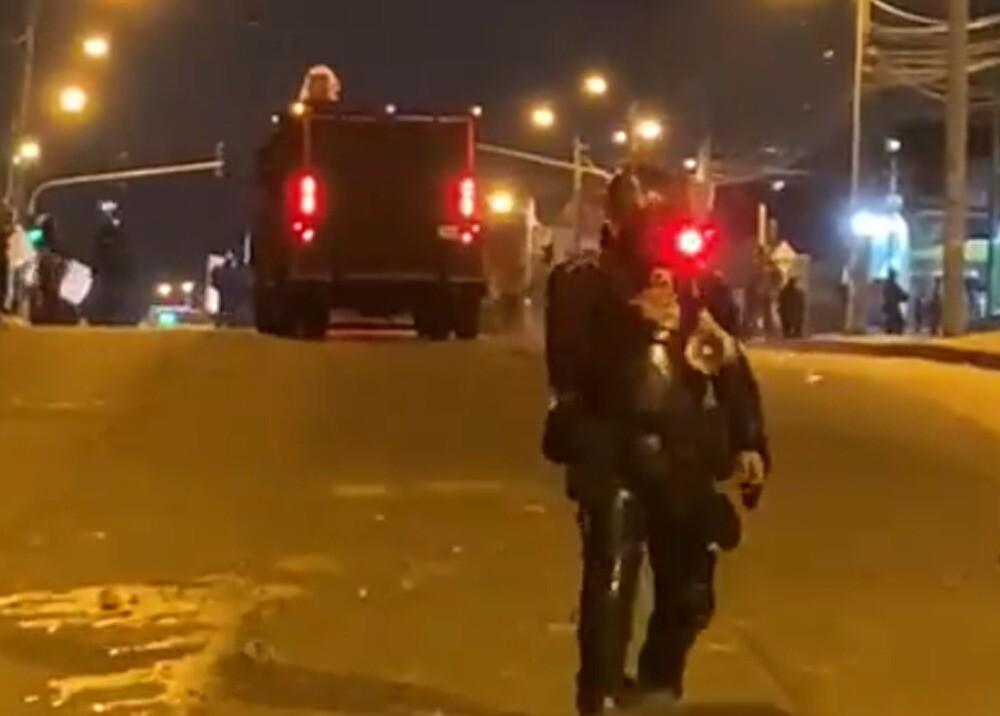 Enfrentamientos en Bogotá
