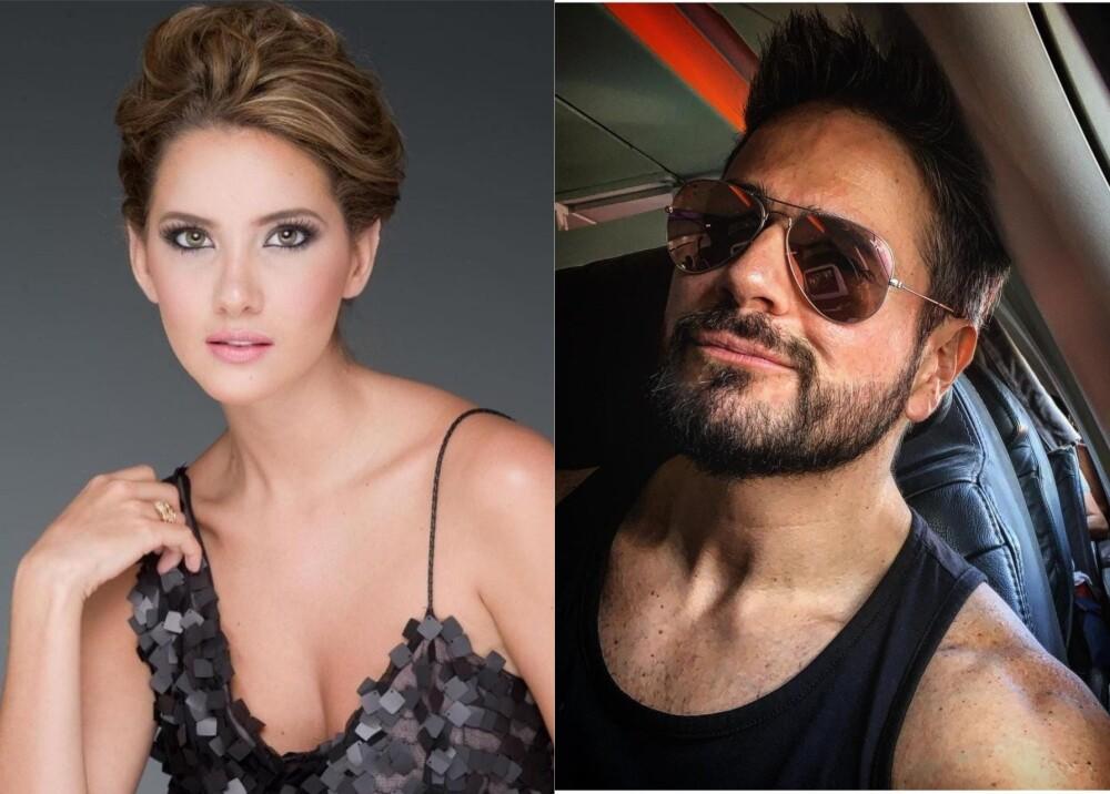 Daniella Álvarez y Daniel Arenas  Foto instagram danielaalvareztv y danarenas.jpg