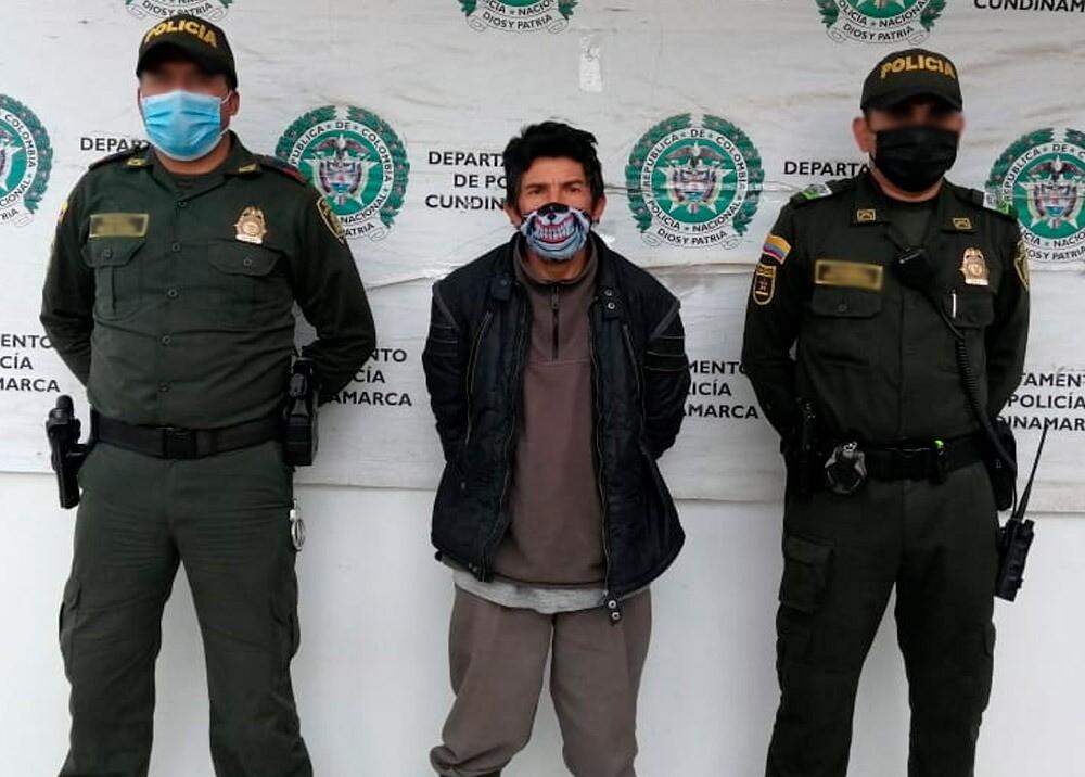 Amed Rodolfo Bayona, 'Monstruo de Zipaquirá' : Foto: cortesía Policía Nacional.jpeg