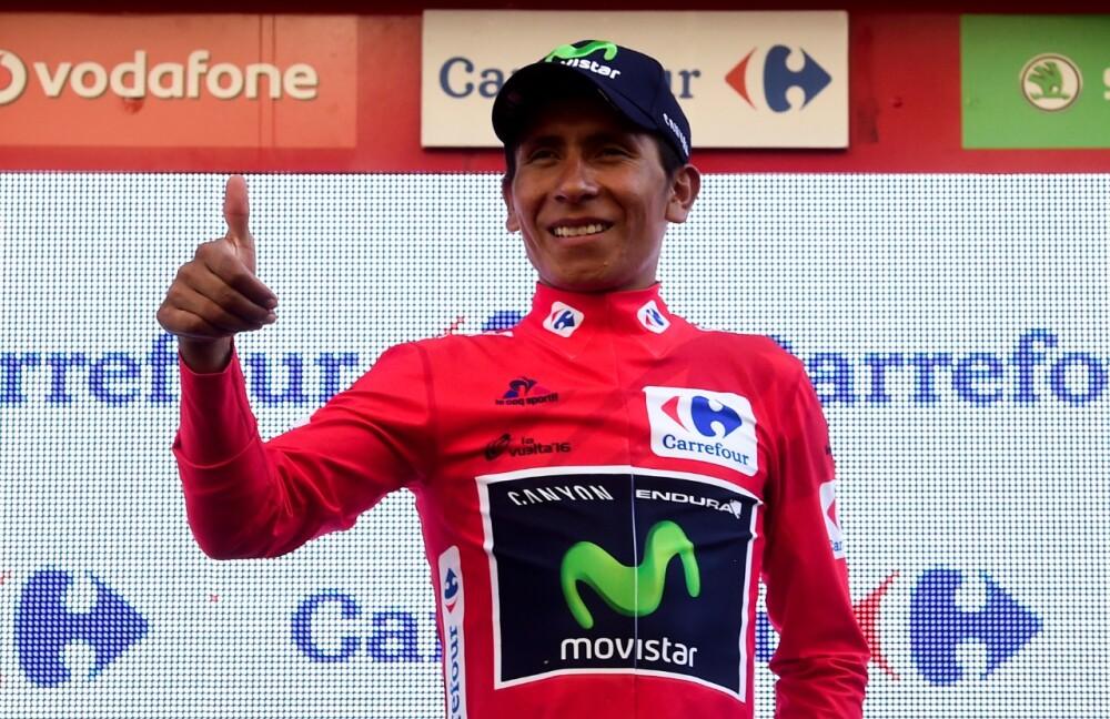 Nairo Quintana, ganador de La Vuelta en 2016 - Foto AFP.jpeg