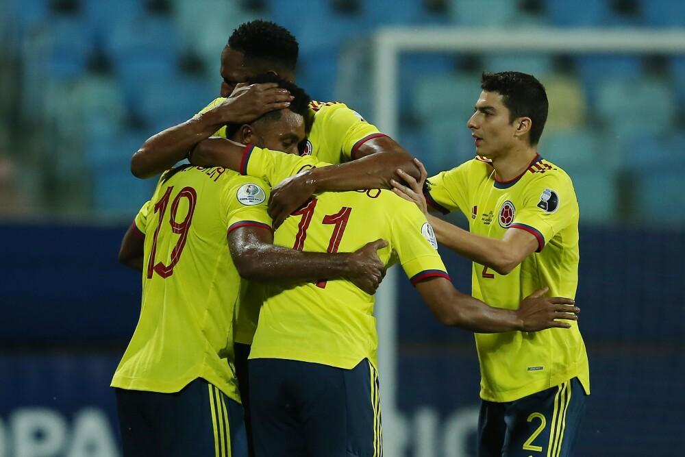 Gol de Borja con Colombia contra Perú
