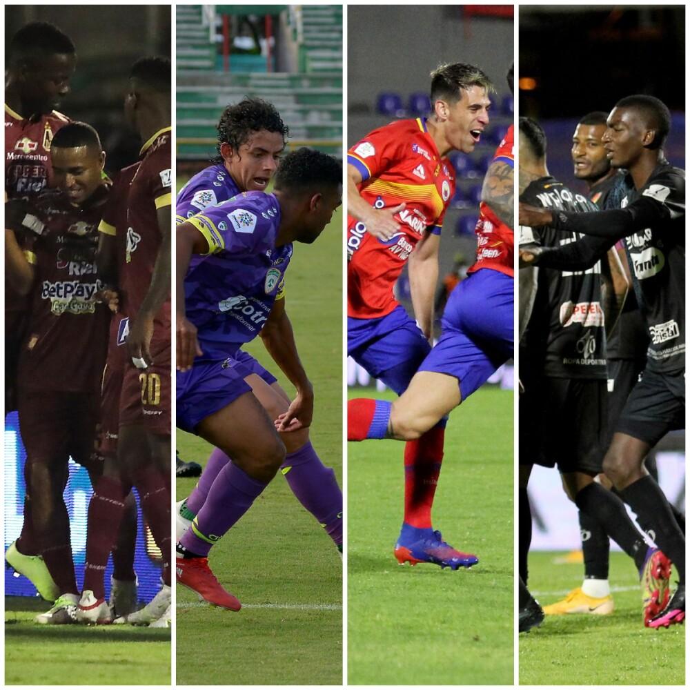Tolima, La Equidad, Pasto y Pereira, luchan por un cupo a la semifinal de la Copa Colombia..jpg