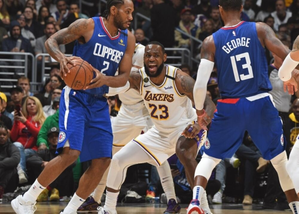 372713_Lakers-Clippers / AFP