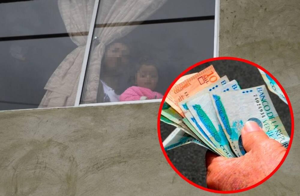 Apoyo económico a hogares en confinamiento Fotos  AFP - BLU Radio, referencia