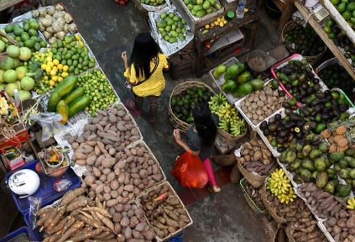 16903_Blu Radio / Incremento en el precio de algunas frutas y verduras se mantiene en el Valle / Referencia AFP.