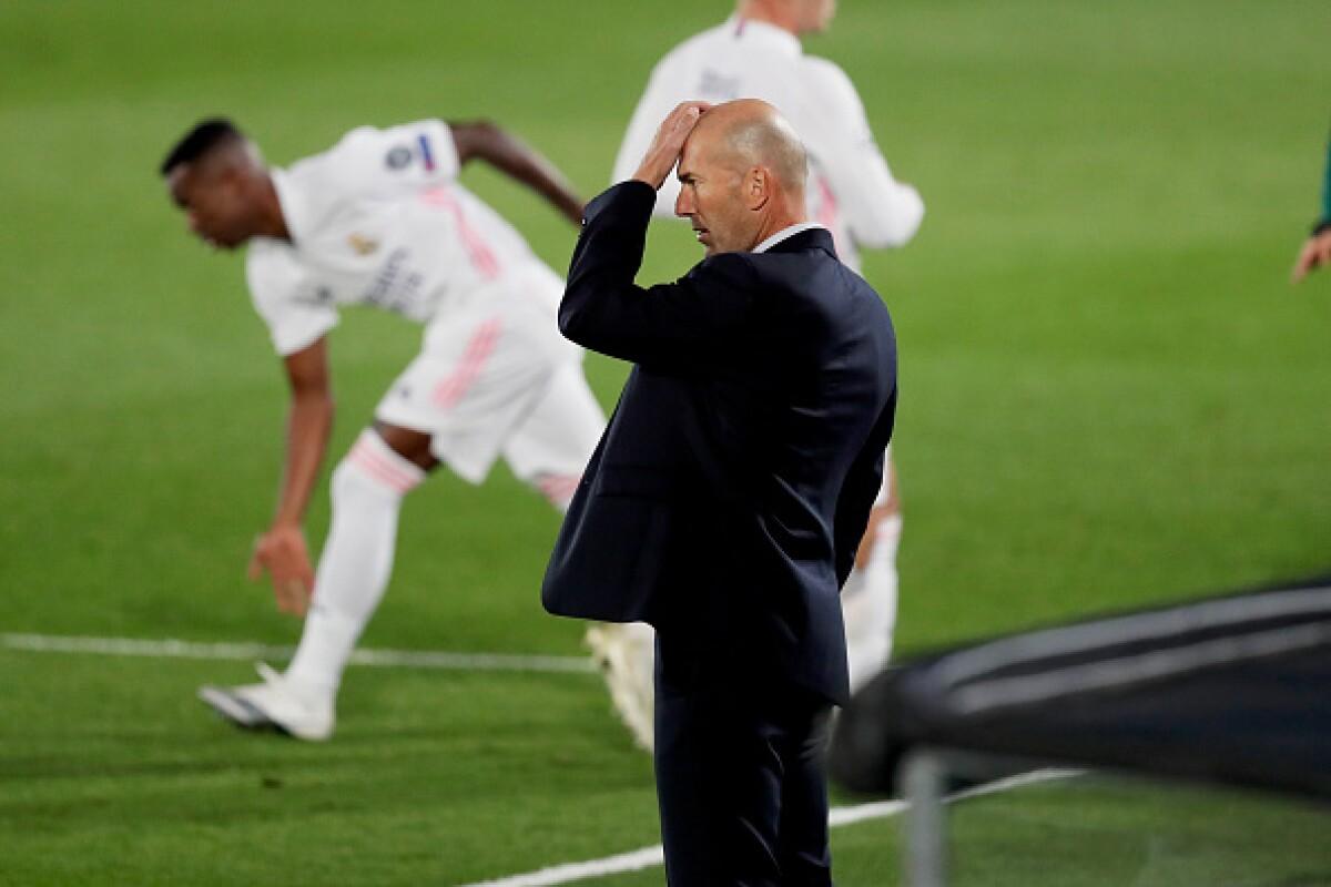 """Zinedine Zidane y su 'argumento' tras ser derrotado: """"No tengo explicación"""""""