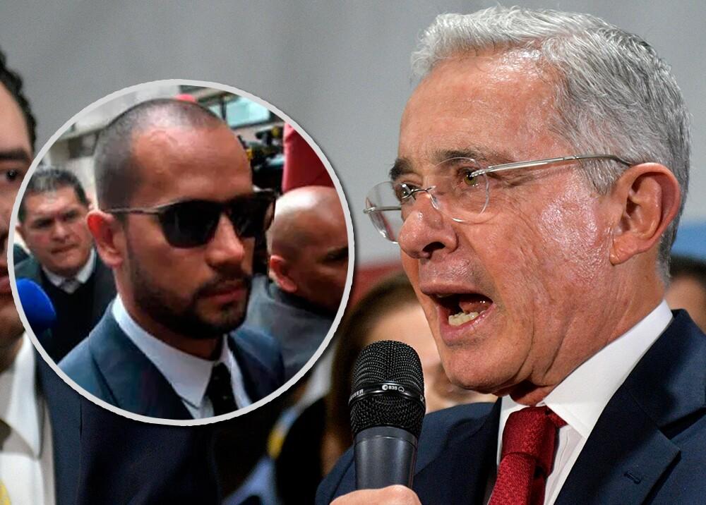 345849_Diego Cadena y Álvaro Uribe //Fotos: cortesía Gustavo Torrijos, El Espectador - AFP