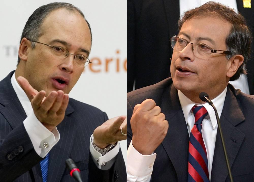 Juan Carlos Echeverry - Gustavo Petro