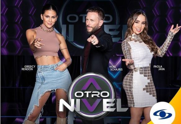 Paola Jara, Greeicy Rendón y Noel Schajris.JPG