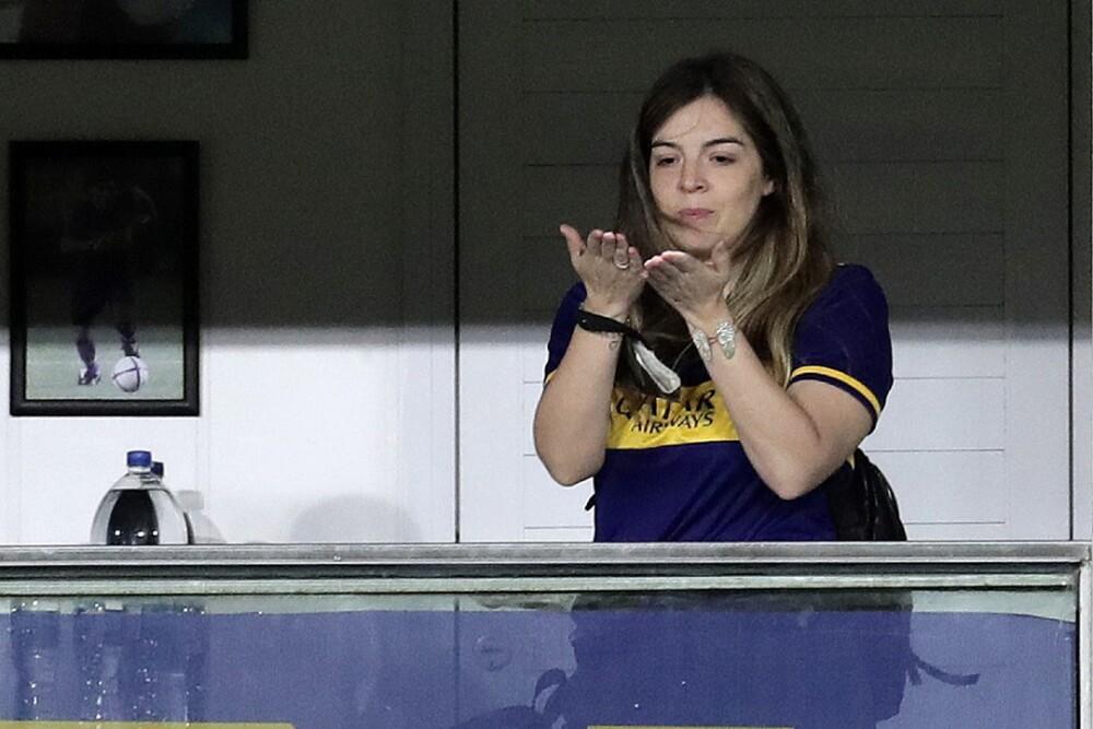 Dalma Maradona Boca Juniors 011220 AFP E.jpg