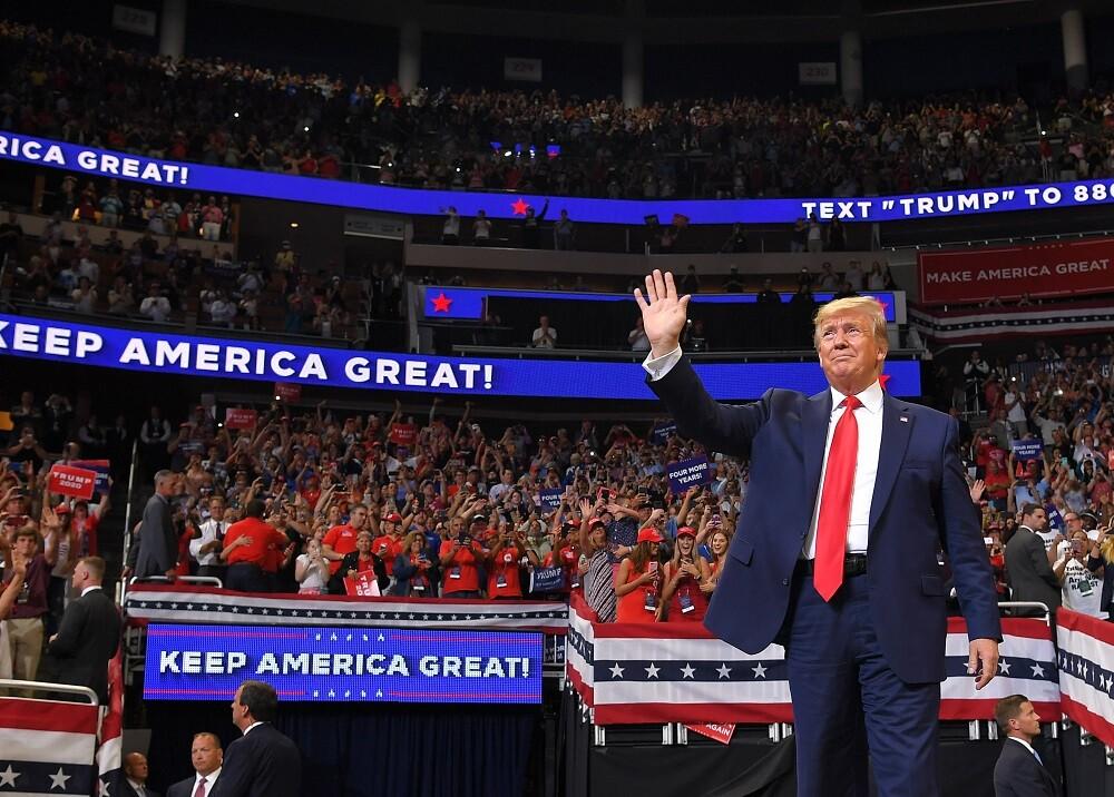 336784_BLU Radio. Donald Trump // Foto: AFP
