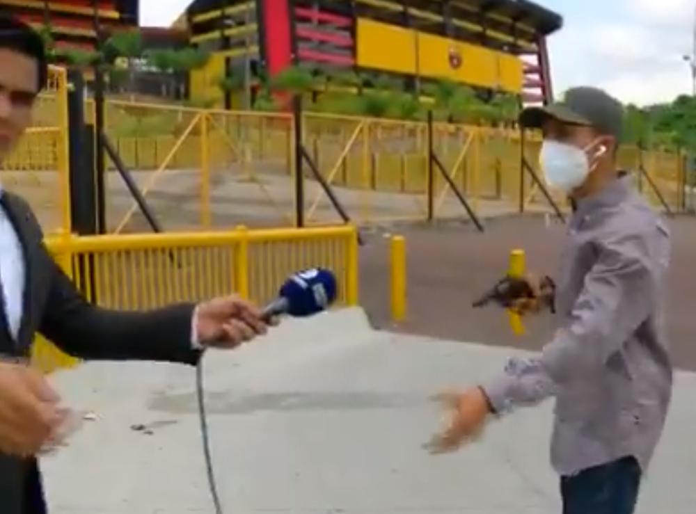 Periodista deportivo fue robado a mano armada en Ecuador.PNG