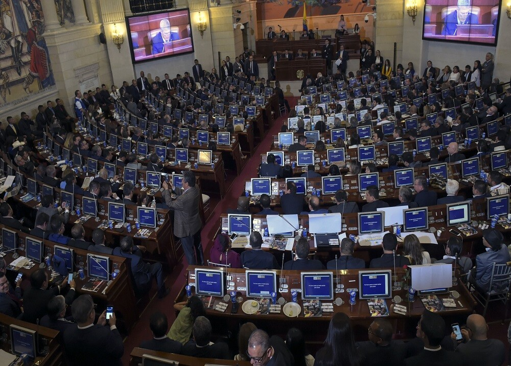 313125_Foto: Congreso de la República / AFP