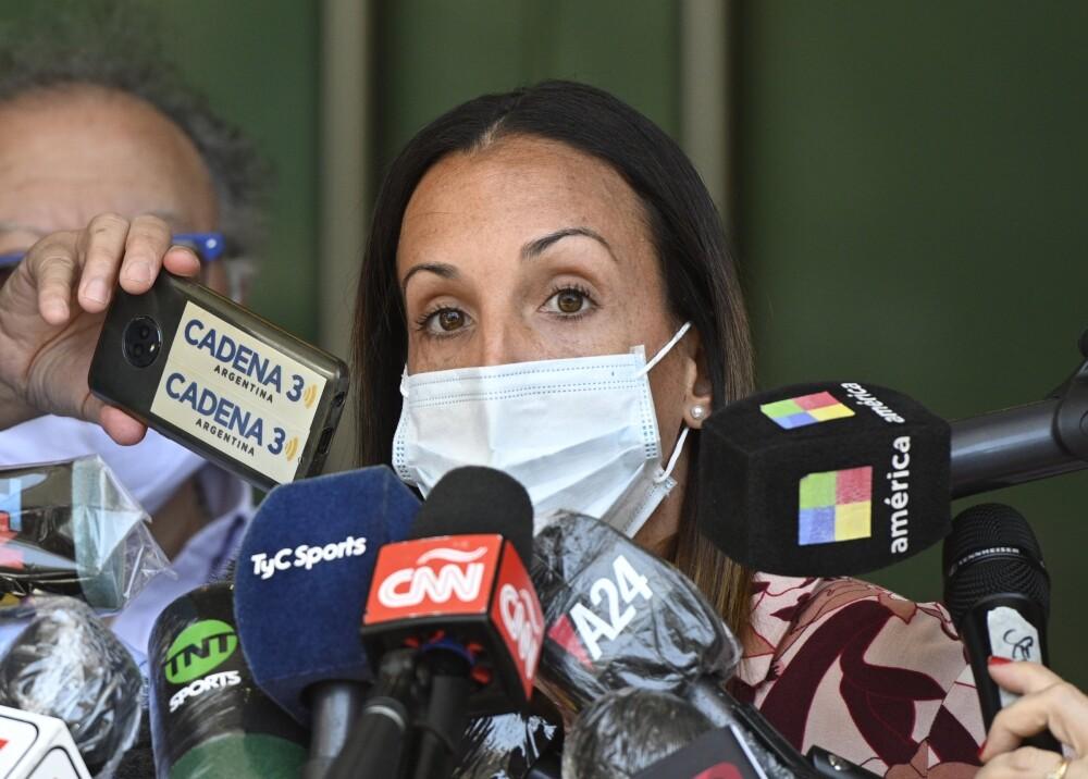 Agustina Cosachov psiquiatra maradona afp.jpg