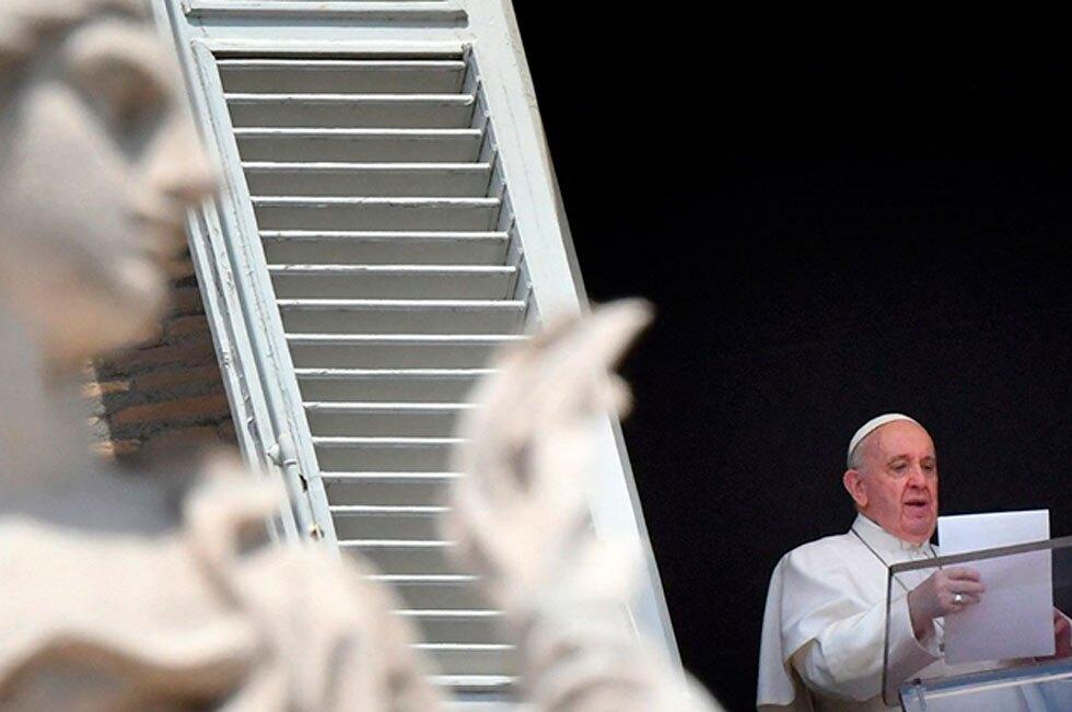 Papa Francisco en ángelus 13 de junio