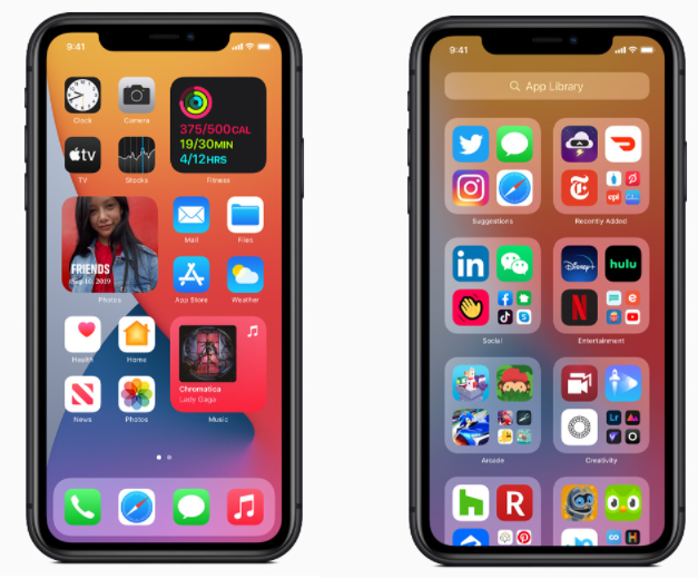 iOS14 de Apple